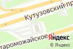 Схема проезда до компании Газпромнефть в Москве