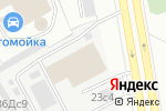 Схема проезда до компании Дизельбокс в Москве