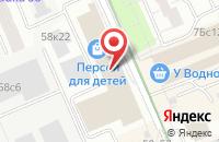 Схема проезда до компании Анастасия в Москве