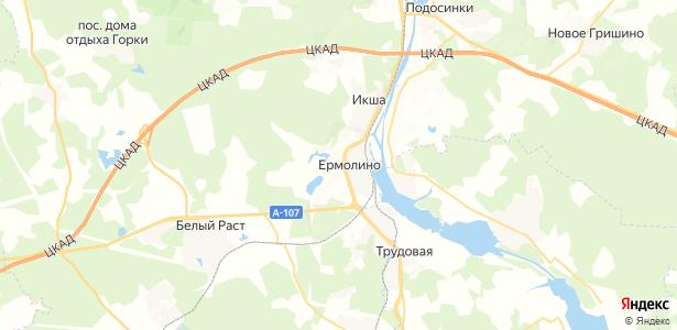Базарово на карте