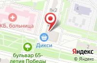 Схема проезда до компании Мария в Подольске