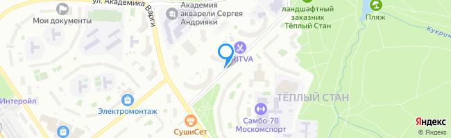 улица Академика Виноградова