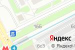 Схема проезда до компании Бесплатный общественный туалет в Москве