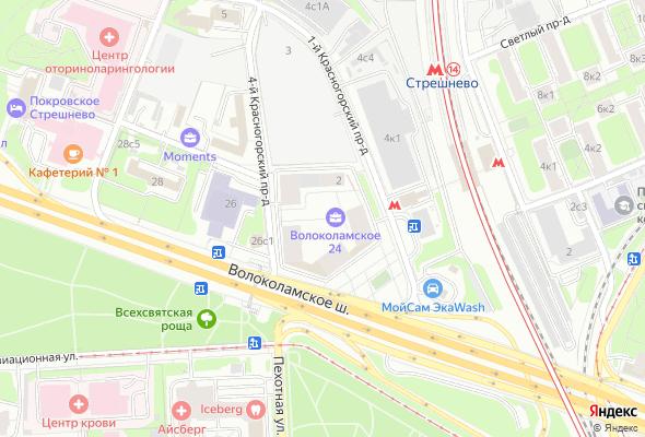 купить квартиру в ЖК Волоколамское 24