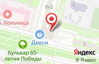 Схема проезда до компании Современные шторы в Подольске