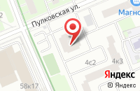 Схема проезда до компании Юрекламист-Доверие в Москве