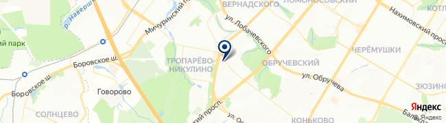 Расположение клиники Юнимед-С
