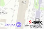 Схема проезда до компании Бабблз в Москве