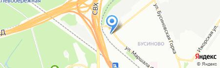 Автомастер-14 на карте Москвы