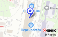 Схема проезда до компании АКБ ЛЕСБАНК в Москве
