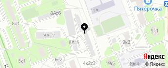 DM-avto на карте Москвы
