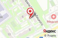 Схема проезда до компании ЖЭУ №6 в Подольске