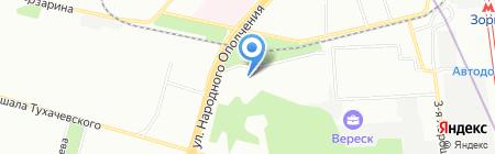 Мосрустранс на карте Москвы