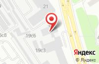Схема проезда до компании Югас Даймонд в Москве