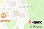 Схема проезда до компании & light в Москве