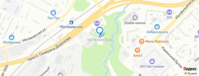 посёлок Матвеевское