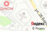 Схема проезда до компании Аудитория С.К. в Москве