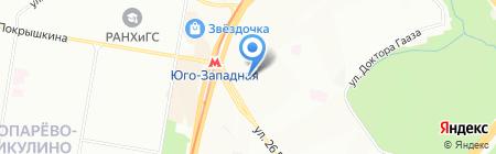 Финская одежда на карте Москвы