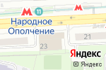 Схема проезда до компании Evita в Москве