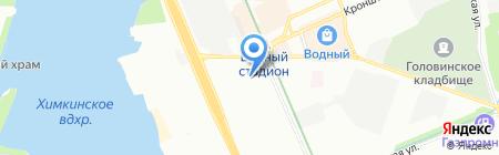 Магазин товаров для шитья на ул. Адмирала Макарова на карте Москвы