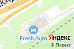 Схема проезда до компании ФК Моторс в Москве