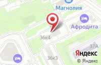 Схема проезда до компании Аэролидер в Москве