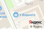 Схема проезда до компании 24pet в Москве