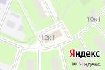 Схема проезда до компании Инженерная служба района Очаково-Матвеевское в Москве