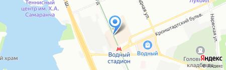 Персей на карте Москвы