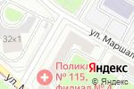 Схема проезда до компании Городская поликлиника №115 в Москве