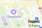 Схема проезда до компании Егян в Москве