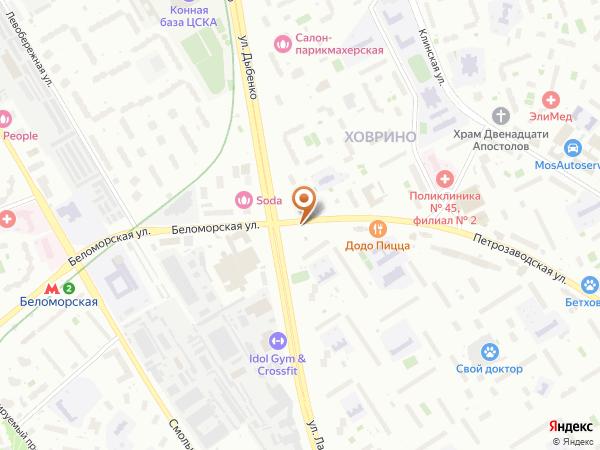 Остановка 15-й таксомоторный парк в Москве