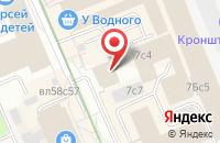 Схема проезда до компании Стройэкспо в Москве