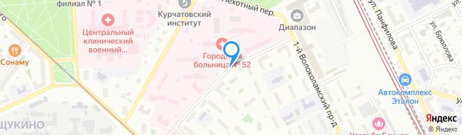 проезд Волоколамский 3-й