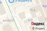 Схема проезда до компании Brother в Москве
