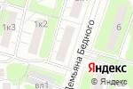 Схема проезда до компании Объединение автомобилистов Северо-Западного административного округа в Москве