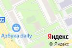 Схема проезда до компании Дэйтлайн в Москве