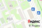 Схема проезда до компании Новые обои в Москве