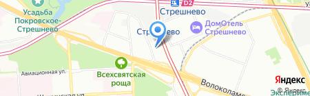 Walhoff на карте Москвы