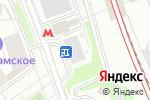 Схема проезда до компании Фабрика-прачечная №19 в Москве
