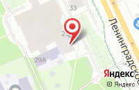 Схема проезда до компании Скай Проджект в Москве