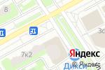 Схема проезда до компании Альянс в Подольске