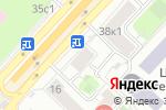 Схема проезда до компании Mad Sports Entertainment в Москве