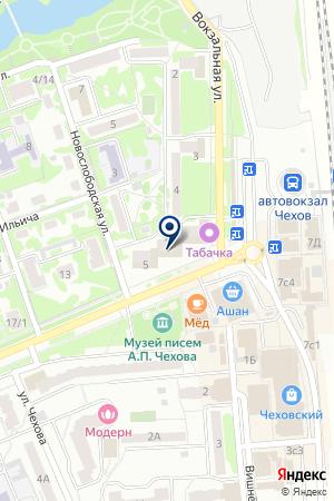АПТЕКА ВИТА на карте Чехова