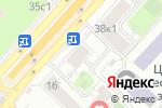 Схема проезда до компании Нотариус Куренцова Н.В. в Москве