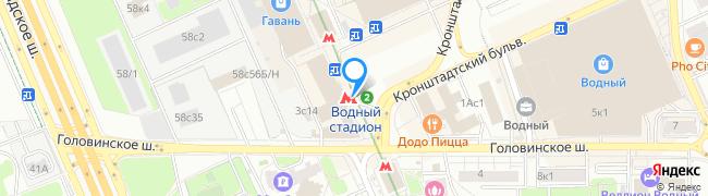 метро Водный стадион