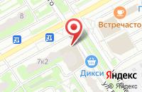 Схема проезда до компании Особое мнение в Подольске
