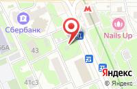 Схема проезда до компании Эдель в Москве