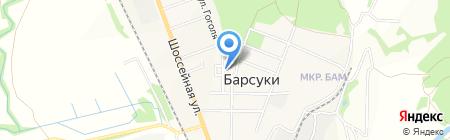Удача на карте Барсуков