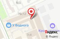 Схема проезда до компании Проектно-Строительная Компания  в Москве